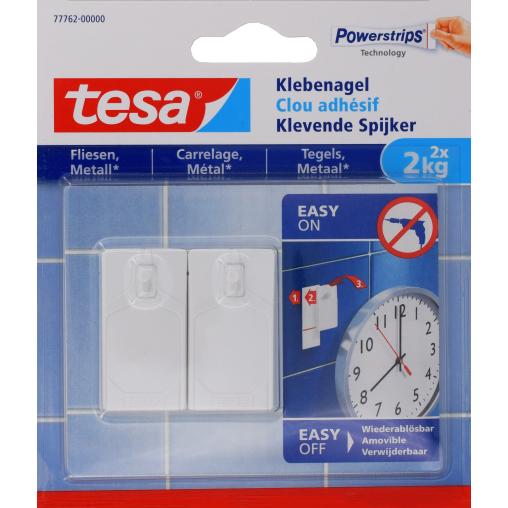 tesa® Klebenagel für Fliesen und Metall, 2 kg