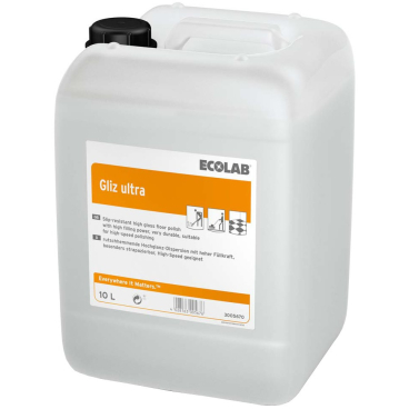 ECOLAB Gliz ultra® Hochglanz-Dispersion 10 l - Kanister