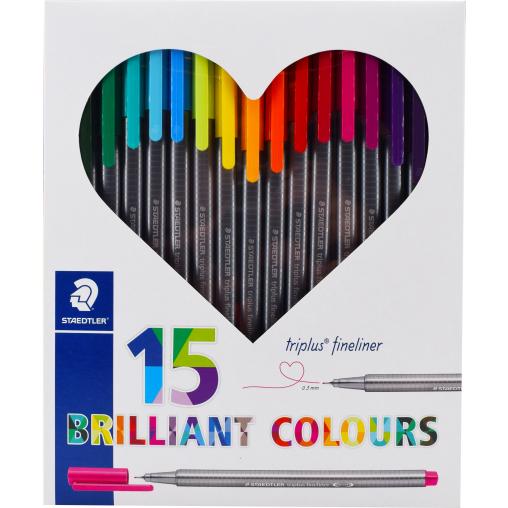 Staedtler triplus® brilliant Colours Fineliner Farbstift