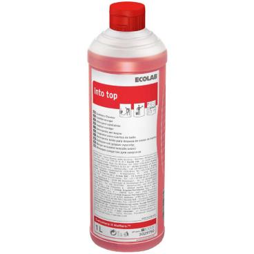 ECOLAB Into® TOP Sanitär-Kraftreiniger 1000 ml - Flasche (1 Karton = 12 Flaschen)
