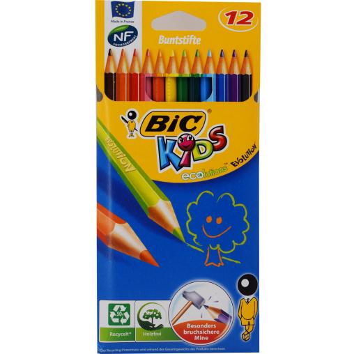 BiC® Kids ecolutions Evolution Buntstifte