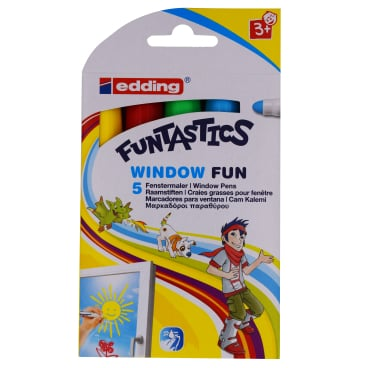 edding® 16 Funtastics Window Fun Fenstermaler