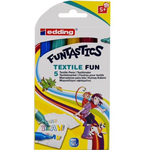 edding® 17 Funtastics Textile Fun Textilmarker