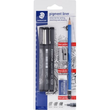 Staedtler pigment liner Fineliner