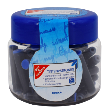 Tintenpatronen, blau