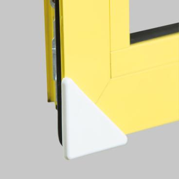 reer Eckenschutz, für Fenster Farbe: weiß