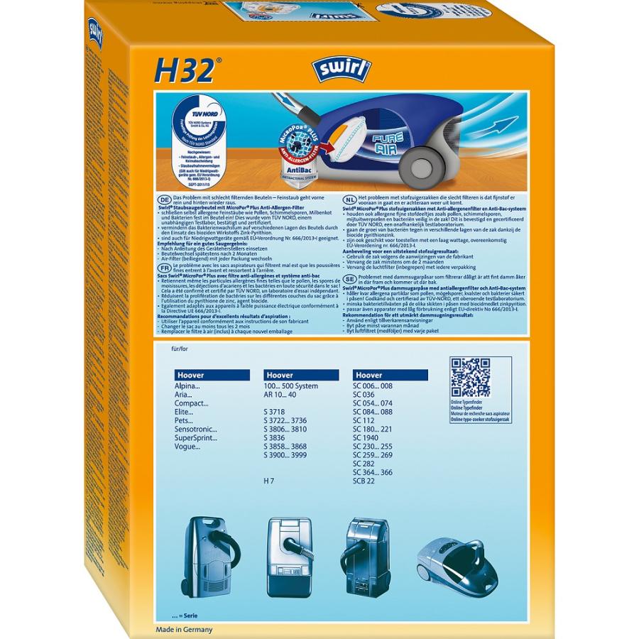6 Staubsaugerbeutel für Hoover SC 088 Supersprint Staubbeutel SC 088