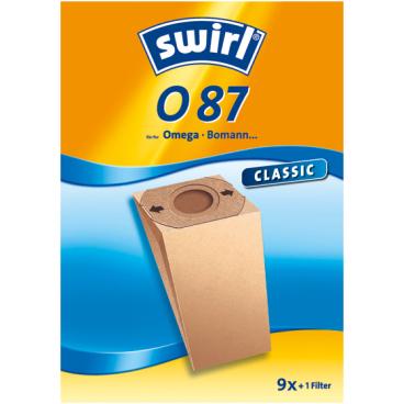 Swirl O 87 Staubfilterbeutel