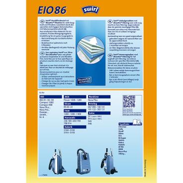 Swirl EIO 86 MicroPor für EIO Typ EIO 86