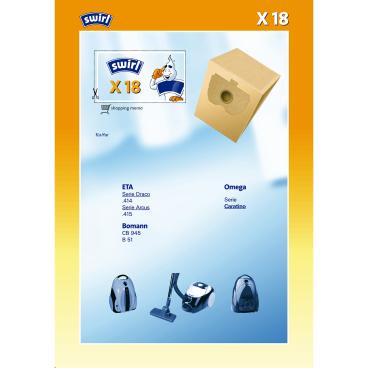 Swirl X 18 für übrige Hersteller Typ X 18