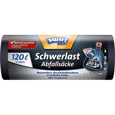Swirl PROFI Schwerlast-Abfallsäcke