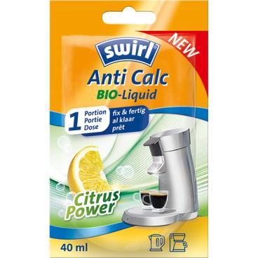 Swirl® Anti Calc Bio Liquid Entkalker 1 Beutel = 40 ml