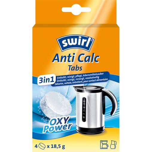 Swirl Anti Calc 3in1 Tablets Entkalker