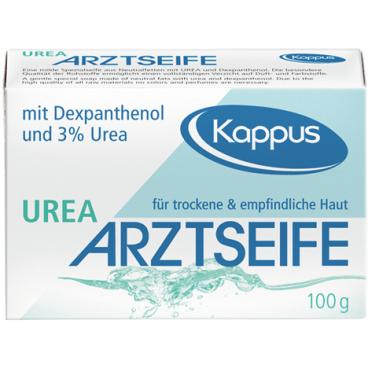 Kappus Arztseife mit Dexpanthenol und 3 % Urea