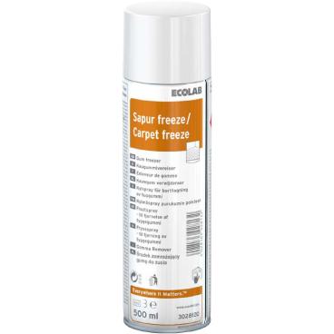 ECOLAB Sapur® freeze Kaugummientferner 500 ml - Dose (1 Karton = 6 Dosen)