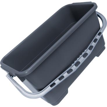 Fensterputzeimer, rechteckig, Profi-Ausführung Für Einwascher/ Abzieher bis 45 cm (22-Liter)
