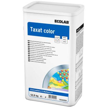 ECOLAB Taxat Color Buntwaschmittel 12,5 kg - Trommel