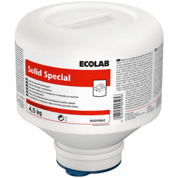 ECOLAB Solid Special Maschinenspülmittel 4,5 kg - PE-Foldaway (1 Karton = 4 Stück)