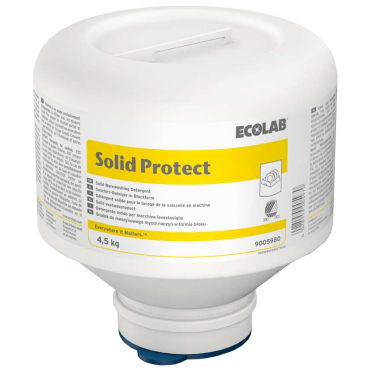 ECOLAB Solid Protect Maschinenspülmittel 4,5 kg - PE-Foldaway (1 Karton = 4 Stück)