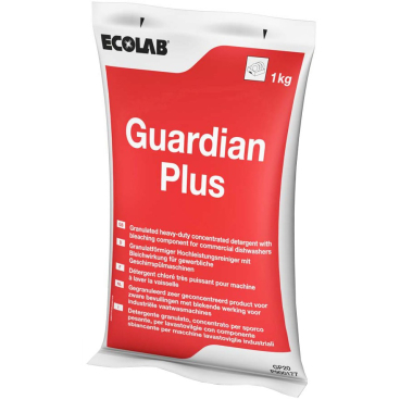 ECOLAB Guardian Plus Pulvergranulat Maschinenspülmittel 1000 g - Packung (1 Karton = 20 Packungen)