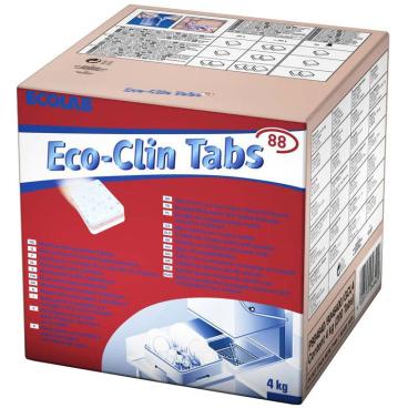ECOLAB Eco-clin Tabs Geschirrspül-Tabs 1 Karton = 200 Tabs à ca. 20 g