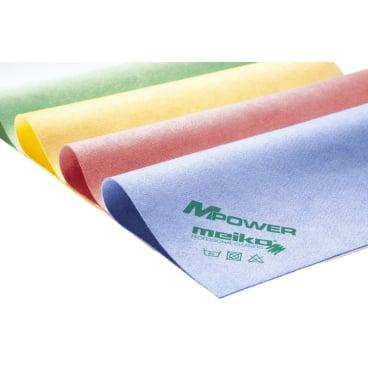 Meiko Microfaser Reinigungstuch MPower gelb mit Piktogramm Waschbecken
