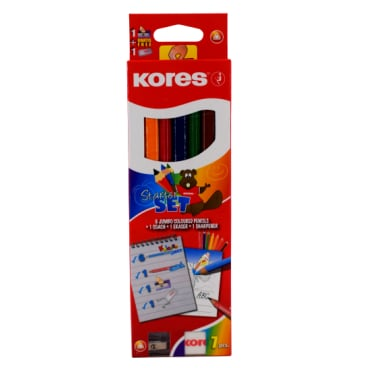 Kores Kolores Jumbo Starter Set Buntstift