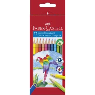 Faber-Castell Dreikant Buntstifte