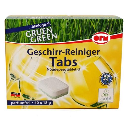 OPM Green Geschirr-Reiniger Tabs
