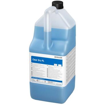 ECOLAB Clear Dry PL Klarspüler 5 l - Kanister (1 Karton = 2 Kanister)