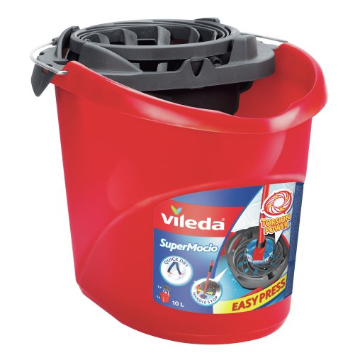 Vileda SuperMocio Eimer, 2-teiliges Set