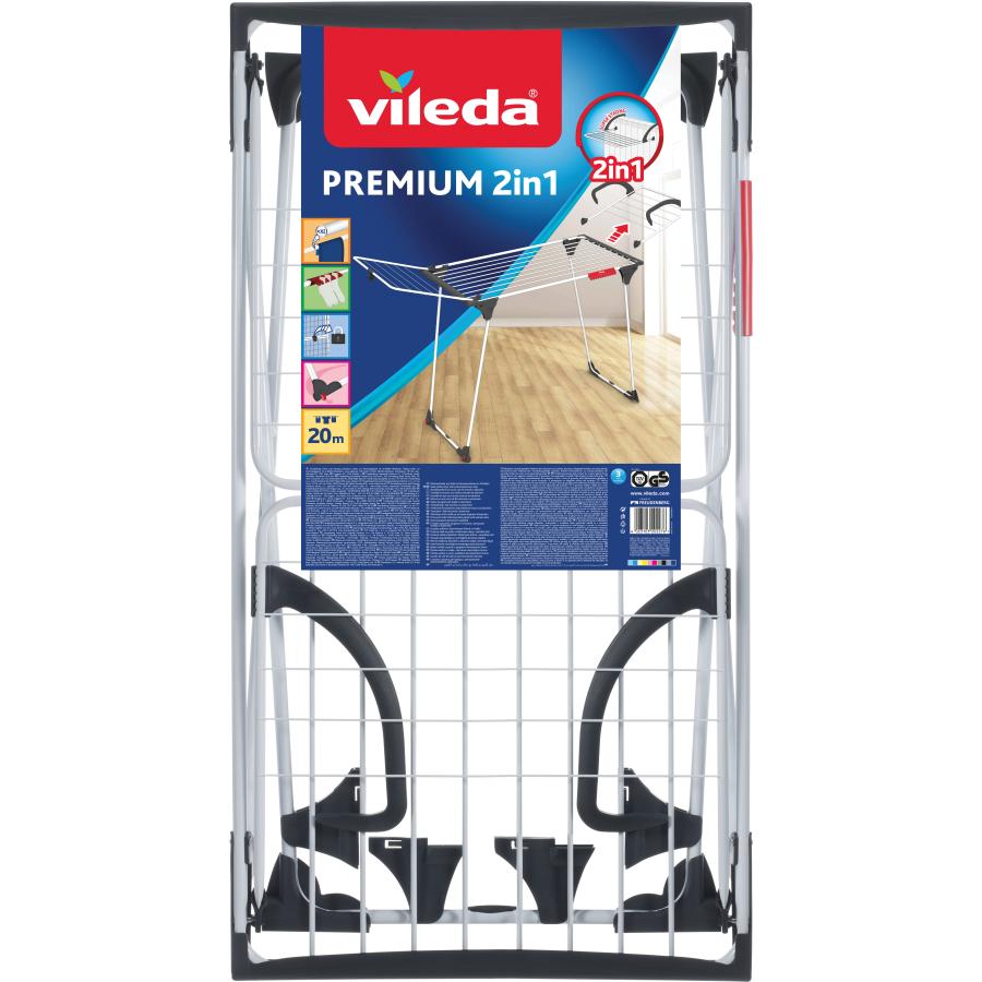 Vileda Premium 2in1 W/äschest/änder aus Stahl und Aluminium