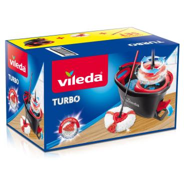 Vileda Turbo EasyWring & Clean Komplett Set, 4-teilig