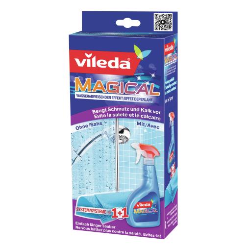 Vileda Magical Set, wasserabweisender Effekt