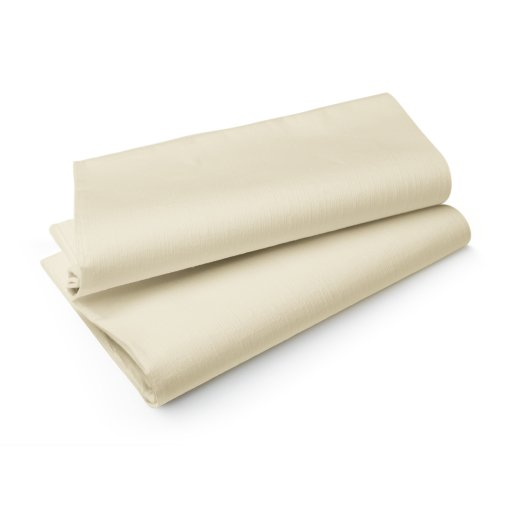 DUNI Evolin® Tischdecke, 84 x 84 cm, cream