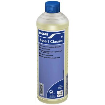 ECOLAB Assert Classic Spülmittel 1000 ml - Flasche (1 Karton = 6 Flaschen)