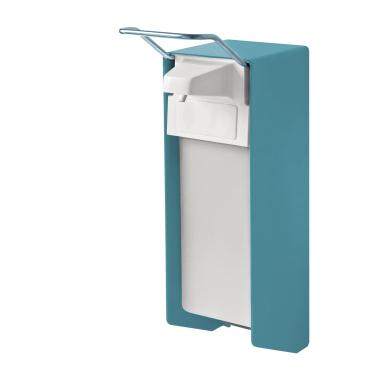 TEMDEX® Sanpure® Desinfektionsmittel- & Seifenspender, Aluminium Kurzer Armhebel, Kunststoffpumpe