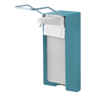 TEMDEX® Sanpure® Desinfektionsmittel- & Seifenspender, Aluminium