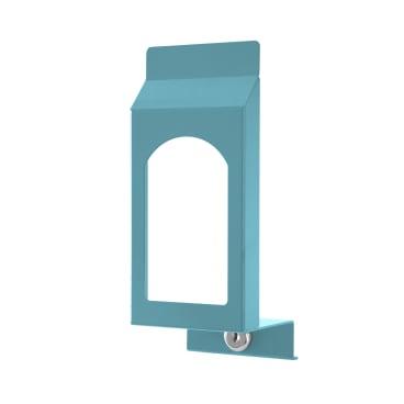 TEMDEX® Sanpure® Frontblende mit Sichtfenster Für 1 Liter - Spender, gewölbt