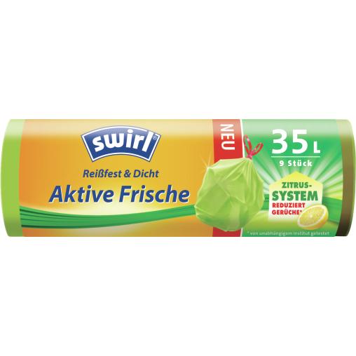 Swirl® Aktive-Frische Müllbeutel