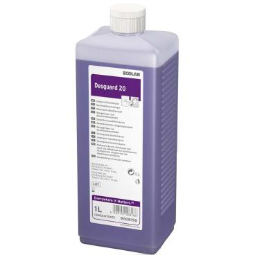 ECOLAB Desguard 20 Desinfektionsreiniger 1000 ml - Flasche (1 Karton = 4 Flaschen)