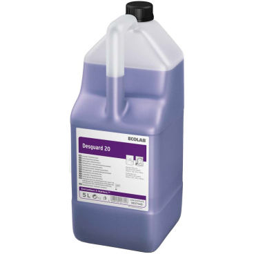 ECOLAB Desguard 20 Desinfektionsreiniger 5 l - Kanister (1 Karton = 2 Kanister)