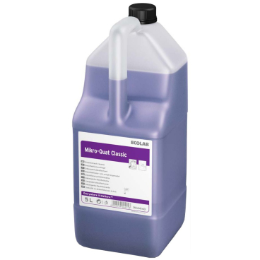 ECOLAB Mikro Quat Classic Desinfektionsreiniger 1 Karton = 2 Kanister à 5 Liter