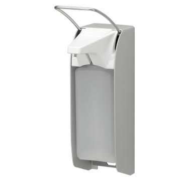 ingo-man® plus IMP Seifen-/Desinfektionsmittelspender Langer Bedienhebel, Aluminium, T A/DHP