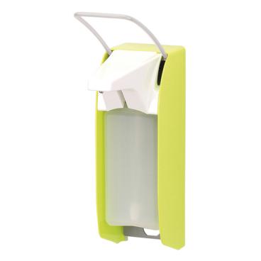 ingo-man® plus IMP Seifen-/Desinfektionsmittelspender Farbe: leuchtgelb, mit kurzem Bedienhebel, E P/25