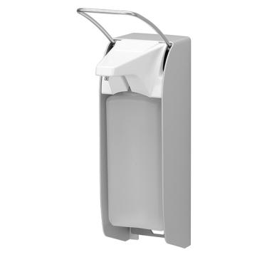 ingo-man® plus IMP Seifen-/Desinfektionsmittelspender Kurzer Bedienhebel, Aluminium, T A/K