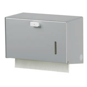 ingo-man® HS 15 Handtuchpapierspender Aluminium, eloxiert, A