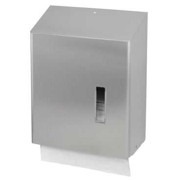 SanTRAL® HSU 31 Papierhandtuchspender Edelstahl, geschliffen, E