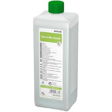 ECOLAB Lime-A-Way Special Entkalker 1000 ml - Flasche (1 Karton = 4 Flaschen)