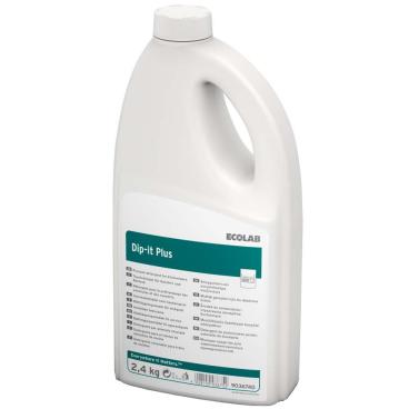 ECOLAB Dip-It Plus (Pulver) Geschirrreiniger 2,4 kg - Flasche (1 Karton = 6 Flaschen)